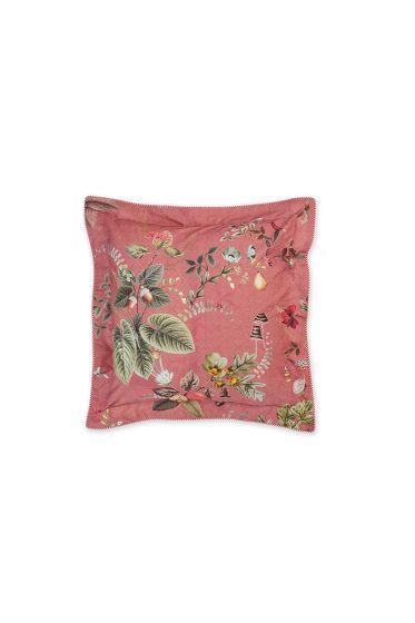 kussen-roze-bloemen-vierkant-sierkussen-fall-in-leave-pip-studio-45x45-katoen