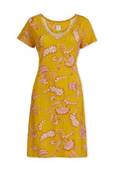Nachthemd mit kurzen Ärmeln Jambo Gelb
