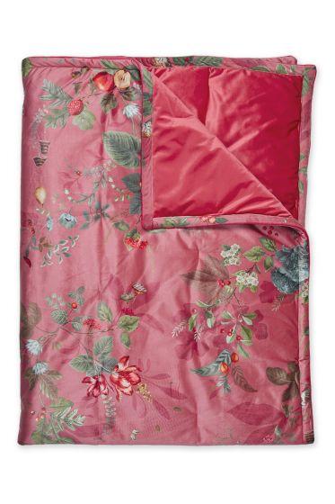 quilt-bettdecke-plaid-velvet-rosa-botanisch-fall-in-leaf-180x260-200x260-polyester