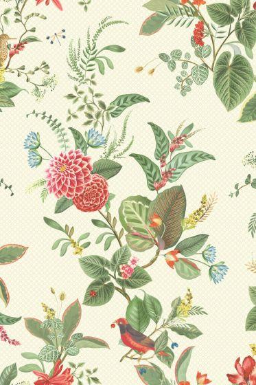 behang-vlies-behang-reliëf-bloemen-print-wit-pip-studio-floris