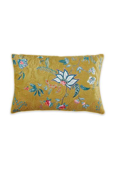 cushion-yellow-floral-rectangle-quilted-cushion-decorative-pillow-flower-festival-pip-studio-42x65-cotton