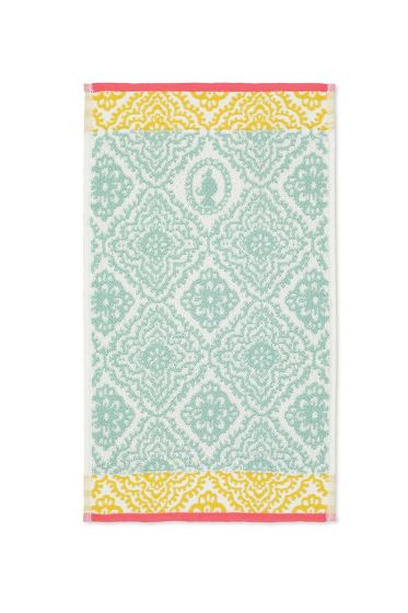 Guest-towel-light-blue-30x50-jacquard-check-pip-studio-cotton-terry-velour