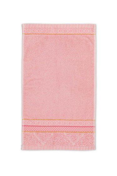 Guest-towel-pink-30x50-soft-zellige-pip-studio-cotton-terry-velour