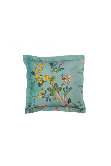 kussen-blauw-bloemen-vierkant-sierkussen-wild-and-tree-pip-studio-45x45-katoen