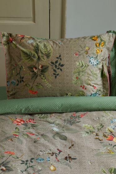 pillowcase-khaki-flowers-cushion-cover-fall-in-leave-pip-studio-2-person-60x70-40x80-cotton