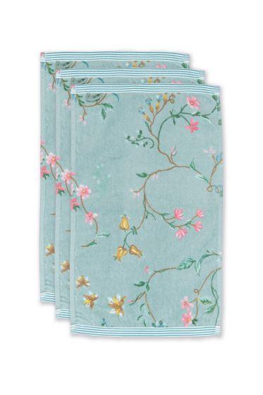 Gästehandtuch-set/3-blumen-drucken-blau-30x50-cm-pip-studio-les-fleurs-baumwolle