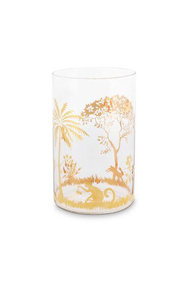 long-drink-glas-la-majorelle-in-roze-met-gouden-details