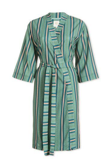 Kimono Blurred Lines Groen