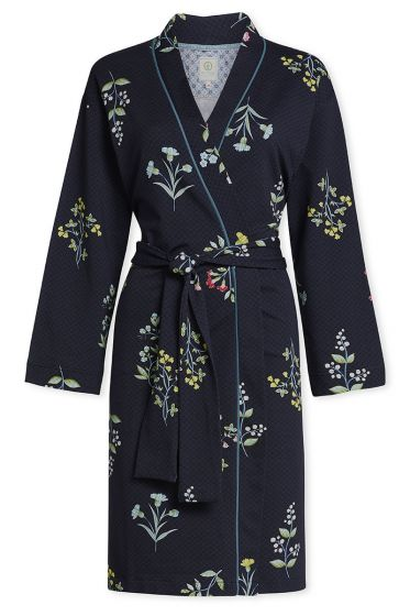Kimono Winter Wonderland Dunkelblau