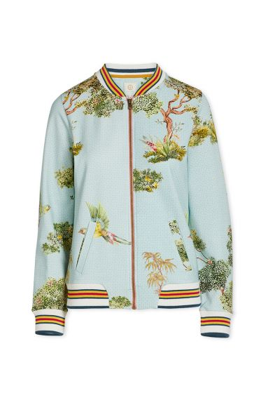 Jacket C'est La Tree Blue