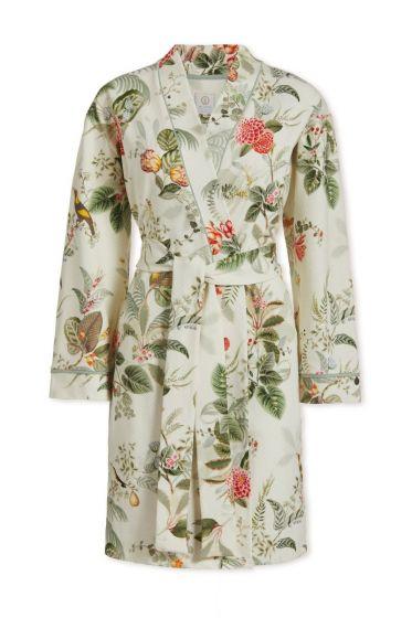 Kimono Floris Weiss