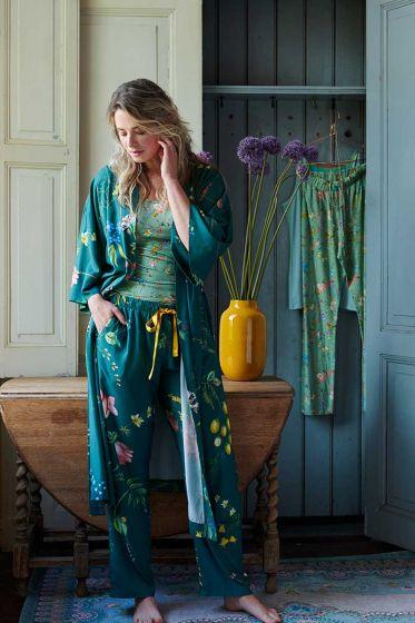 Homewear Set Green Nature