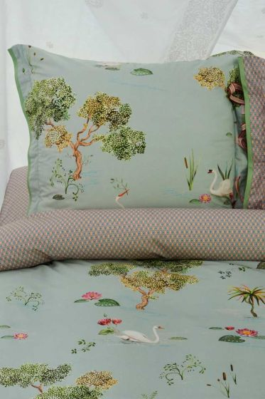 pillowcase-grey-flowers-cushion-cover-little-swan-pip-studio-2-person-60x70-40x80-cotton