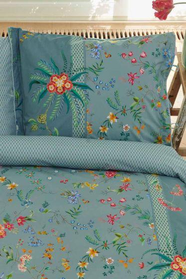 kissenbezug-blau-blumen-petites-fleurs- pip-studio-2-person-60x70-40x80-baumwolle