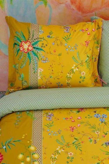 pillowcase-yellow-flowers-cushion-cover-petites-fleurs-pip-studio-2-person-60x70-40x80-cotton
