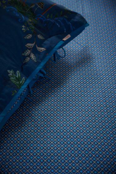 Fitted-sheet-dark-blue-startile-pip-studio-cotton-140x200-180x200-cm