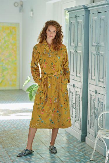badjas-les-fleurs-geel-bloemen-pip-studio-218016