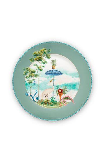 porcelain-plate-jolie-blue-32-cm-2/12-palmtrees-pip-studio-51.001.253