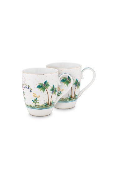 porcelain-set/2-mugs-large-jolie-dots-gold-350-ml-1/18-white-pip-studio-51.002.248