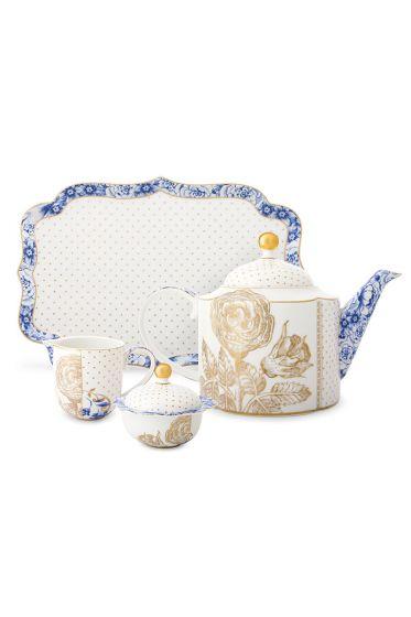 royal-tea-set-of-4-white-pip-studio-51020118