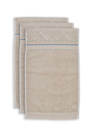 Guest-towel-set/3-khaki-30x50-cm-pip-studio-soft-zellige-cotton
