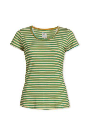 Top short sleeve Sleepy Stripers Green
