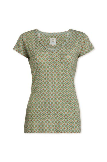 Top short sleeve Habibi Green