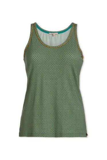 Top sleeveless Twinkle Star Green