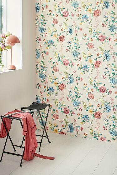 wallpaper-non-woven-vinyl-flowers-white-pip-studio-good-evening