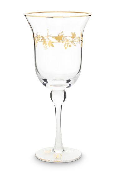 wijn-glas-winter-wonderland-met-gouden-details