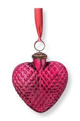 Christmas-ornament-glass-heart-pink-pip-studio-10-cm
