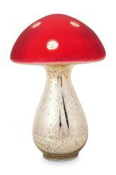 Paddenstoel-decoratie-rood-glas-pip-studio-24-cm