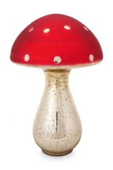 Paddenstoel-decoratie-rood-glas-pip-studio-30-cm