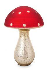 Mushroom-decoration-red-glass-pip-studio-40-cm