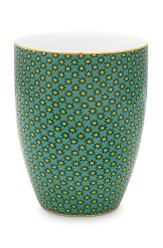 Bathroom-accesoires-drinking-cup-green-twinkle-star-pip-studio-300-ml