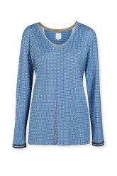 Top-long-sleeve-baroque-print-blue-star-tile-pip-studio-xs-s-m-l-xl-xxl