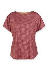 Sport-top-short-sleeve-red-lace-flower-pip-studio-xs-s-m-l-xl-xxl