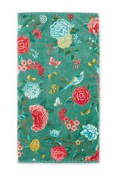 Douchelaken-bloemen-groen-55x100-good-evening-pip-studio-katoen-terry-velour