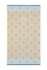 Bath-towel-khaki-55x100-jacquard-check-pip-studio-cotton-terry-velour