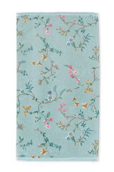Bath-towel-floral-blue-55x100-les-fleurs-pip-studio-cotton-terry-velour