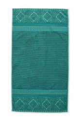 Duschlaken-handtuch-grün-55x100-soft-zellige-pip-studio-baumwolle-velours-frottier