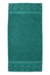 Duschlaken-handtuch-xl-grün-70x140-soft-zellige-pip-studio-baumwolle-velours-frottier