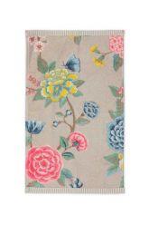 Guest-towel-khaki-floral-30x50-good-evening-pip-studio-cotton-terry-velour