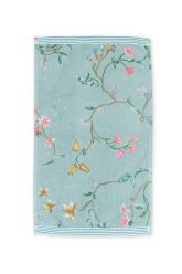 Guest-towel-blue-30x50-les-fleurs-pip-studio-cotton-terry-velour