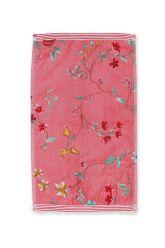 Gästetuch-rosa-blumen-30x50-les-fleurs-pip-studio-baumwolle-velours-frottier