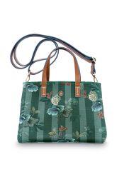 kleine-tasche-leafy-stitch-in-blau-mit-flower-design