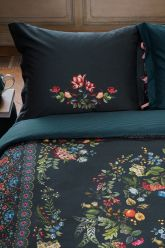 kissenbezug forest-carpet-dunkel-blau-blumen-pip-studio-60x70-40x80-baumwolle