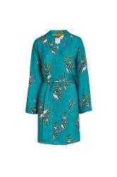 Kimono-groen-bloemen-my-heron-pip-studio-katoen-linnen