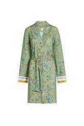 Kimono-groen-bloemen-petites-fleurs-pip-studio-katoen-linnen