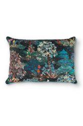 kussen-donker-blauw-bloemen-rechthoek-gewatteerd-sierkussen-pip-garden-pip-studio-45x70-katoen